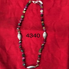 Beautiful Mix Color Stone Long Necklace
