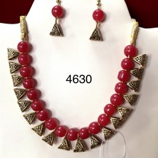 Exclusive Ruby Balls Necklace