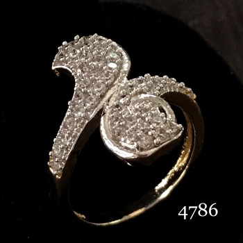 WESTERN STYLE WHITE AD RING