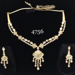 KUNDAN MINT NECKLACE SET WITH INDIAN WEDDING TOUCH