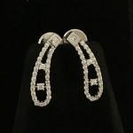 Double Line Unique American Diamond Designer Necklace