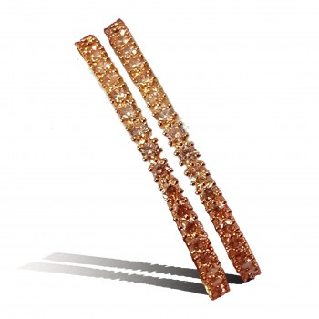 Exclusive Designer Bangles With American Diamond